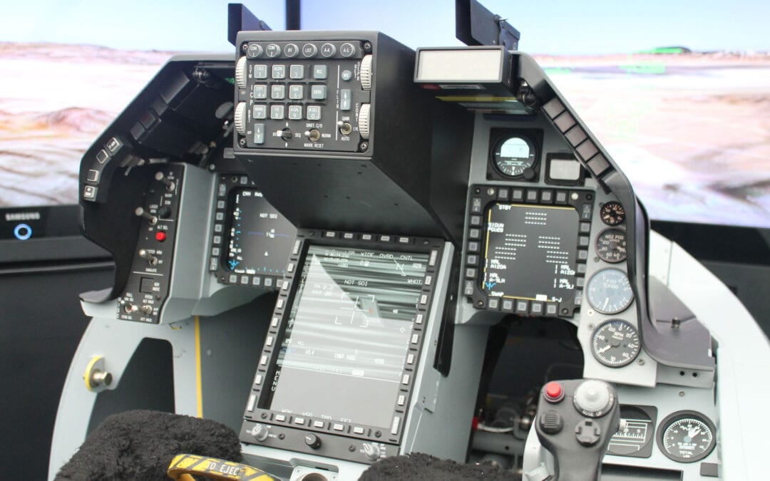 F-16 Viper Cockpit