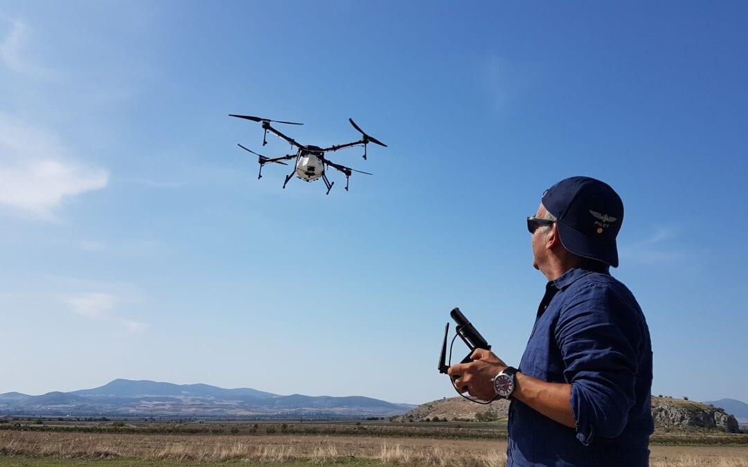 Ψεκαστικό Drone Αγροτικών Εφαρμογών Z-410 ΝΙΚΟΣ ΧΑΤΖΗΣ