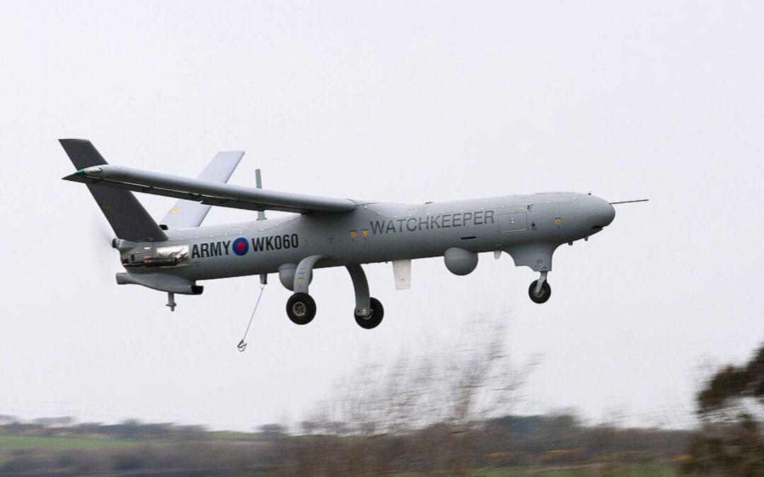 ΣΥΝΤΡΙΒΗ ΒΡΕΤΑΝΙΚΟΥ UAV Watchkeeper WK450 ΣΤΗΝ ΚΥΠΡΟ