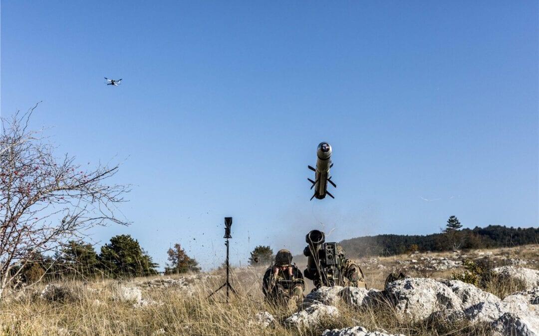 Drone-missile-target-designation
