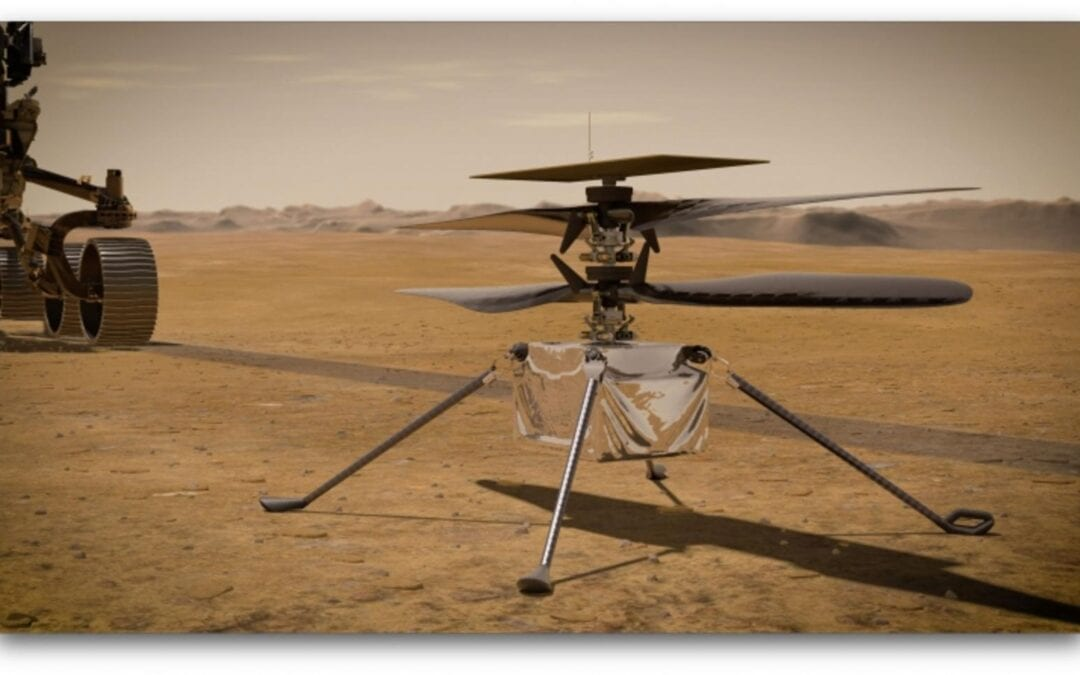 NASA: ΕΡΕΥΝΑ ΚΑΙ ΑΝΑΠΤΥΞΗ Drone ΓΙΑ ΤΗΝ ΕΞΕΡΕΥΝΗΣΗ ΤΟΥ ΠΛΑΝΗΤΗ ΑΡΗ