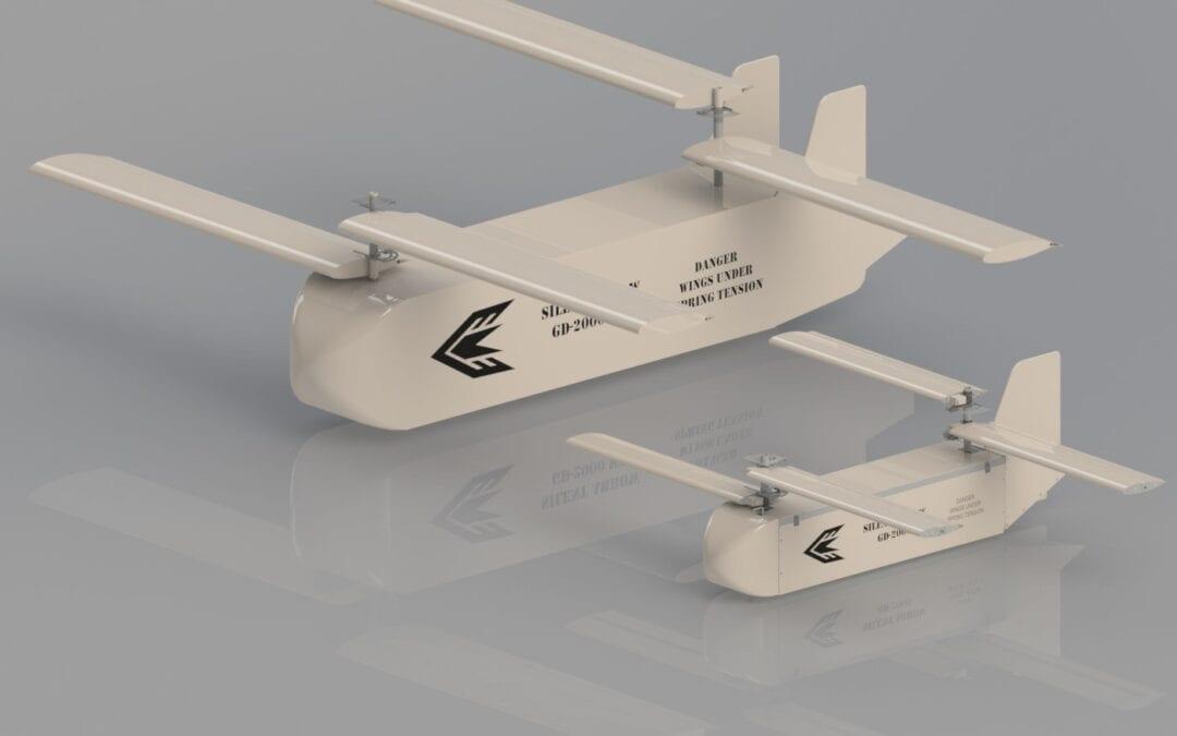 H USAF ΕΠΕΛΕΞΕ ΤΟ UAS ΑΝΕΜΟΠΤΕΡΟ GD-2000 ΓΙΑ ΕΠΙΧΕΙΡΗΣΙΑΚΗ ΧΡΗΣΗ ΣΥΜΒΑΤΟΤΗΤΑΣ ΜΕ ΤΟ CV-22 Osprey
