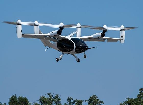 Joby Aircraft in flight