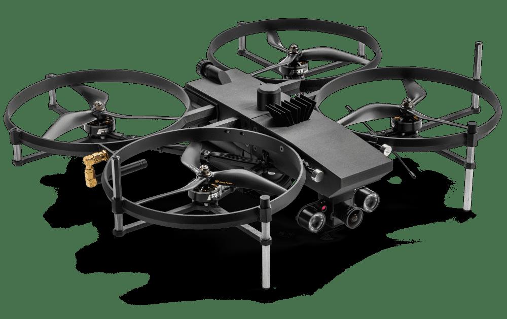 LEMUR: Το drone τακτικής χρήσης για τις ένοπλες ομάδες (SWAT)