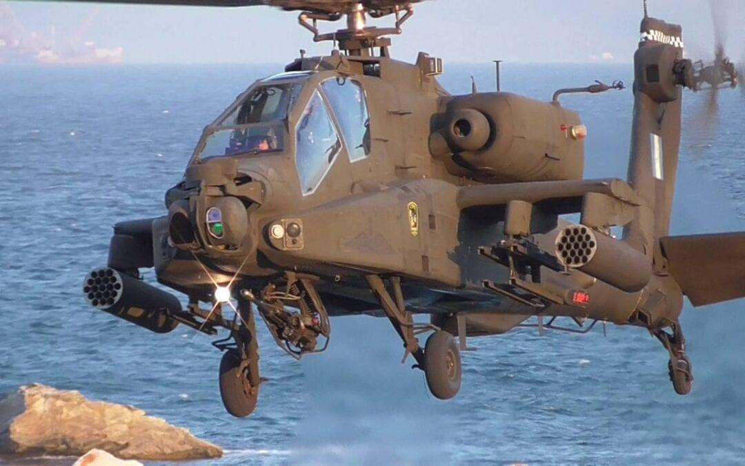 """ΕΛΛΗΝΙΚΑ AH-64A+, """"ΚΑΝΤΟ ΟΠΩΣ"""" ΤΟ ΙΣΡΑΗΛ, ΠΕΡΙΟΡΙΣΜΕΝΟΣ ΕΚΣΥΓΧΡΟΝΙΣΜΟΣ ΚΑΙ SPIKE-NLOS @Πτηση"""