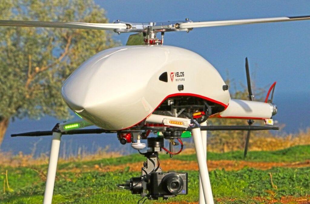 ΔΥΝΑΤΟΤΗΤΑ ΑΠΟΣΤΟΛΩΝ ΦΩΤΟΓΡΑΜΜΕΤΡΙΑΣ ΚΑΙ LiDAR ΑΠΟ ΤΟ UAV ΕΛΙΚΟΠΤΕΡΟ Velos
