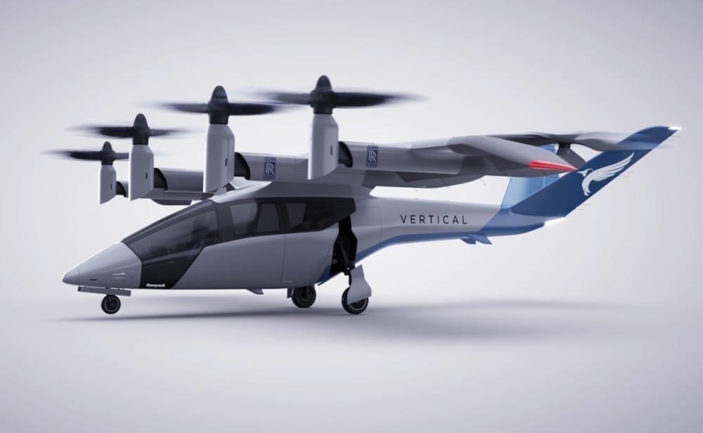 Μαζί Rolls-Royce και Vertical Airospace για την ηλεκτροκίνηση του α/φους eVTOL Vertical