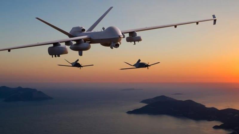 ΕΚΤΟΞΕΥΣΗ ΒΟΗΘΗΤΙΚΩΝ UAV ΑΠΟ MQ-9A Reaper ΚΑΙ MQ-1C Gray Eagle