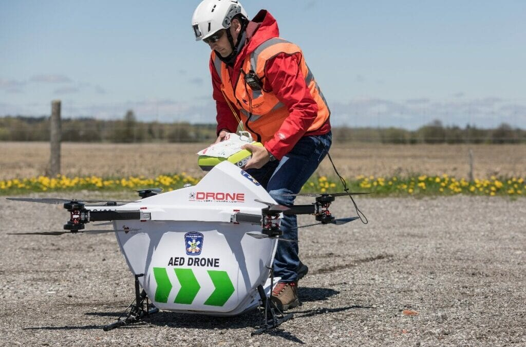 Drone Delivery Canada and University of British Columbia Cooperate to Supply Remote Community with Pandemic-Fighting Supplies