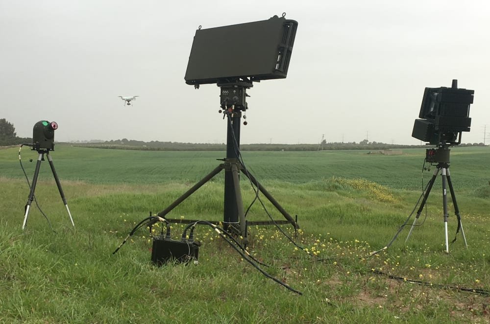 IAI Sells Drone Guard Systems to South Asian Country