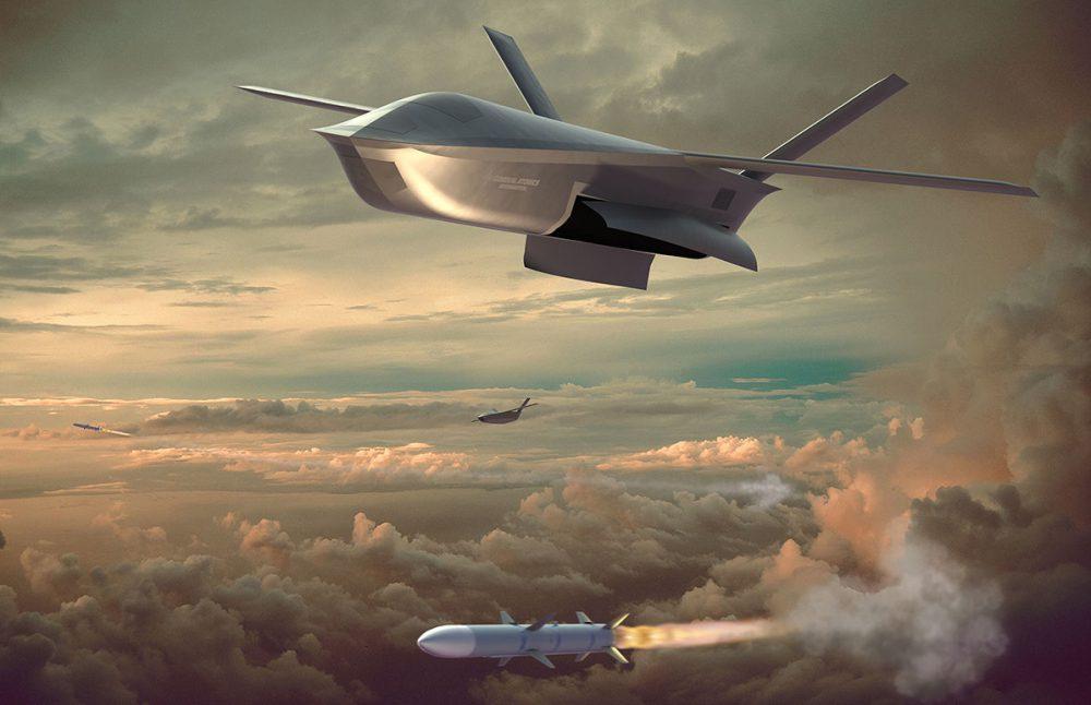 GA-ASI-Longshot-suas-render Air-to-Air Combat Drone 1