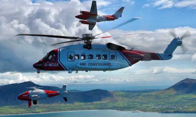ΒΡΕΤΑΝΙΑ-ΑΚΤΟΦΥΛΑΚΗ: ΣΥΜΜΕΤΟΧΗ UAS CAMCOPTER S-100 ΣΕ ΑΠΟΣΤΟΛΕΣ Search and Rescue (SAR)