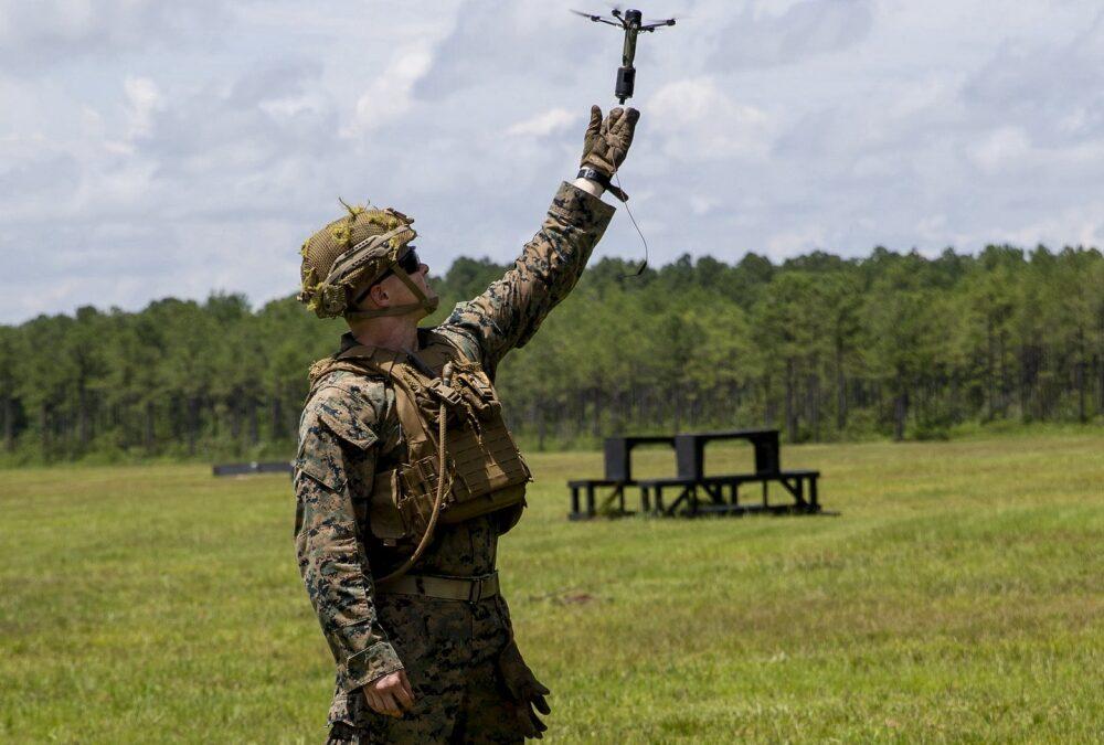 Marine-grenade-drone