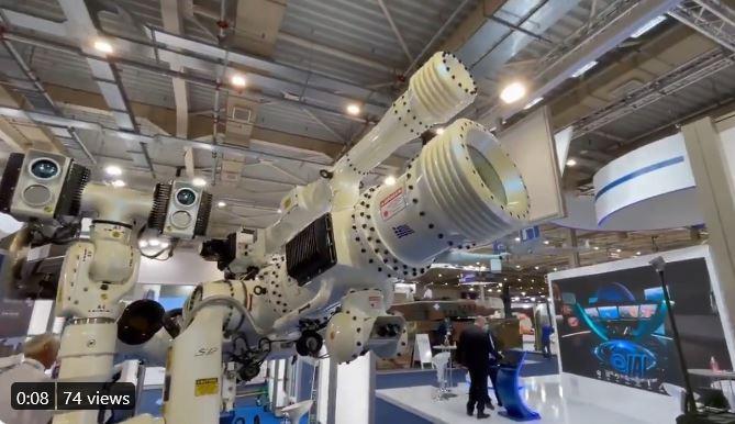ΠΑΝΙΣΧΥΡΟ (anti-drone) laser ΤΗΣ Soukos Robots ΣΤΗΝ DEFEA 2021 @Πτηση.