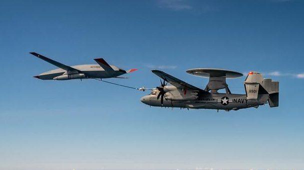 Boeing MQ-25 Stingray Tanker Drone