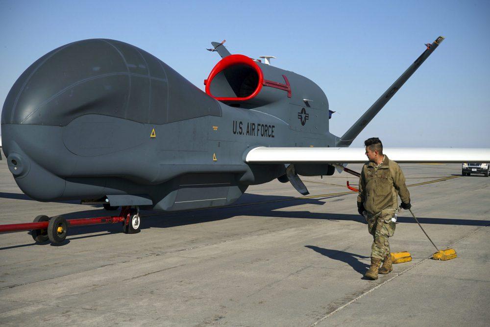 RQ-4 Global Hawk Crashes in North Dakota