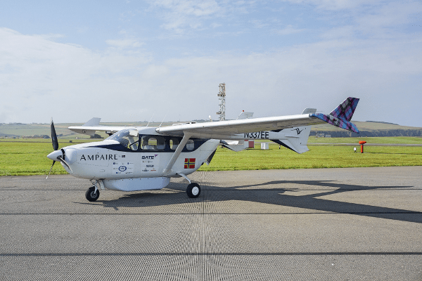 ampaire electric airplane