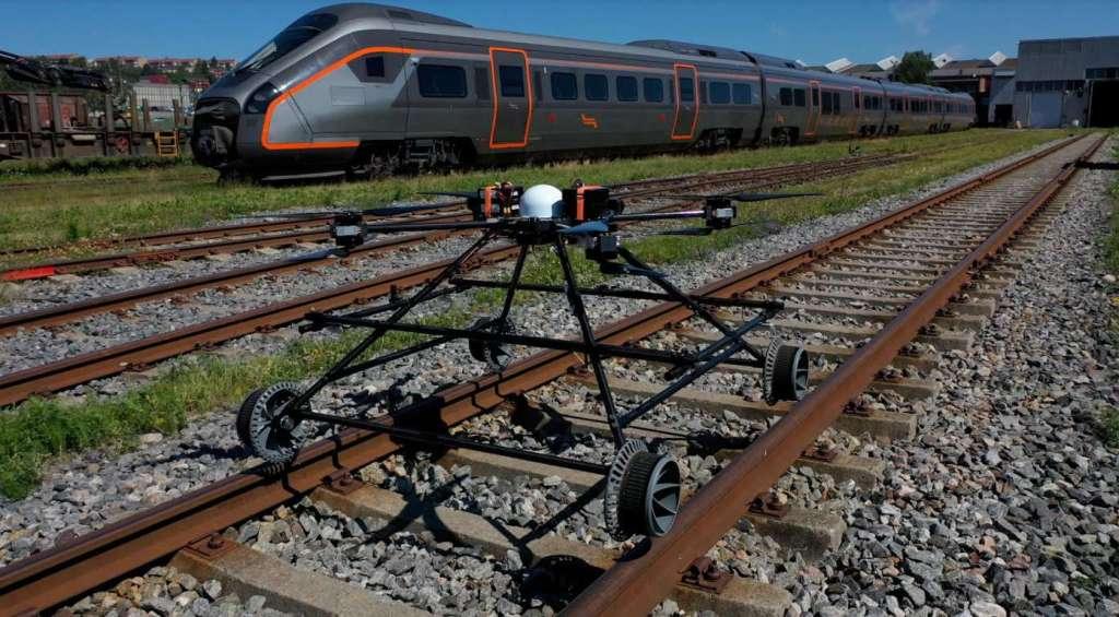 Staaker BG-300 Railway Drone