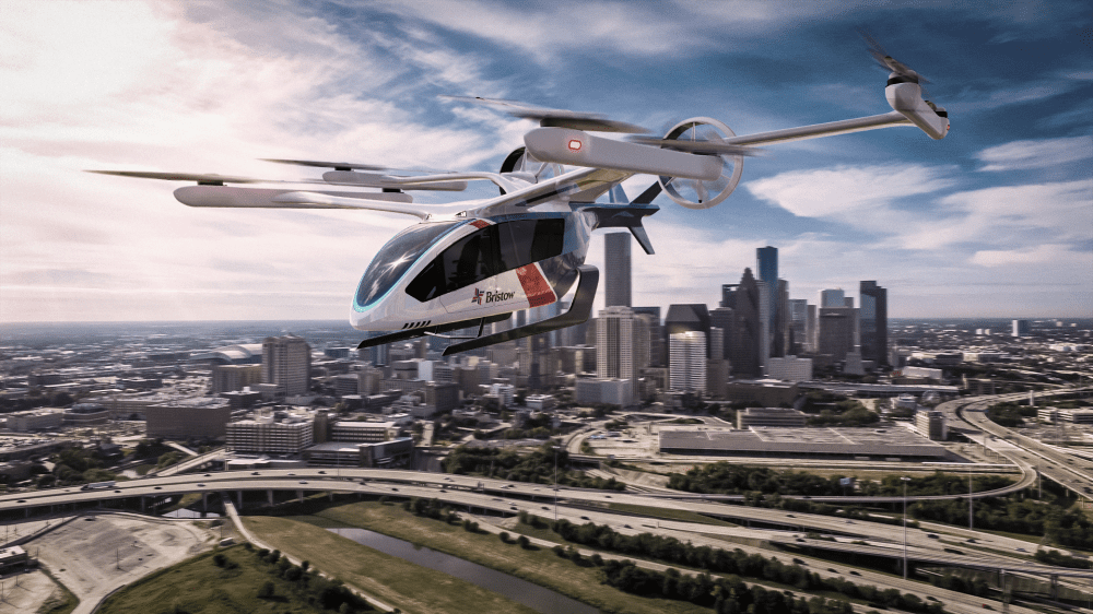 Bristow Orders up to 100 Eve eVTOLs