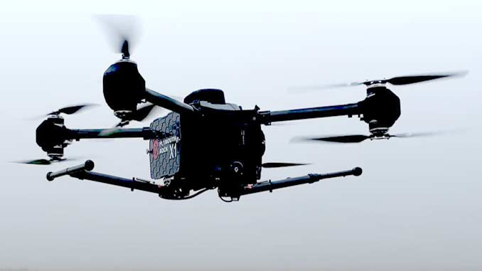 Drone Swarm Project to Monitor Weather and Air Quality
