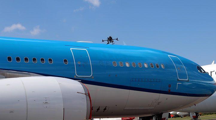 ΟΛΛΑΝΔΙΑ: ΠΡΩΤΗ ΕΞΩΤΕΡΙΚΗ ΤΕΧΝΙΚΗ ΕΠΙΘΕΩΡΗΣΗ Α/ΦΟΥΣ Α330 ΑΠΟ ΕΝΑ Drone M300