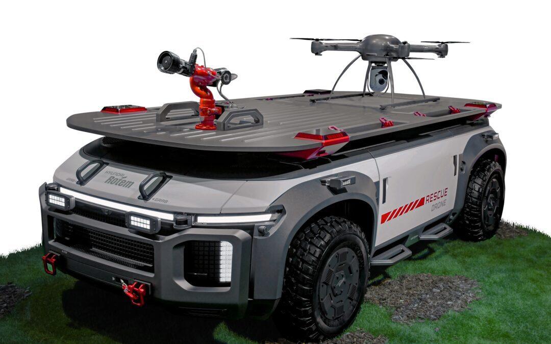 Hyundai's Rescue Drone
