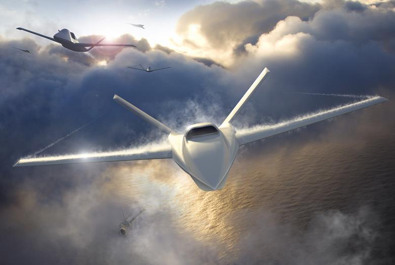 ΗΠΑ: H Northrop Grumman ΠΑΡΟΥΣΙΑΣΕ ΤΟ ΠΡΟΔΡΟΜΟ Α/ΦΟΣ Model 401 aircraft ΑΛΛΑ ΚΑΙ ΤΟ Combat UAV ISR, Model 437