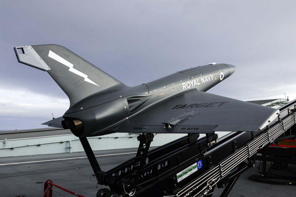 ΒΡΕΤΑΝΙΚΟ ΒΑΣΙΛΙΚΟ ΝΑΥΤΙΚΟ: ΔΟΚΙΜΑΣΤΙΚΕΣ ΕΚΤΟΞΕΥΣΕΙΣ ΤΟΥ sUAS QinetiQ Banshee Jet 80+ ΜΕ ΚΙΝΗΤΗΡΑ ΤΖΕΤ